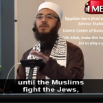 California Imam Prays for The Annihilation of All Jews