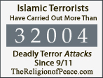 32,000 Deadly Islamic Attacks Since 911