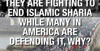 Sometimes A Picture Says It Best – End Sharia Islamic Law