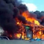 School Bus Full of Children Set on Fire by Angry Muslim Migrant for Retaliation